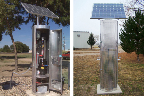 Solar Water Desalination System For Data Acquisition System : Solar solution for clean water